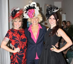 CaloAesthetics staff posing for pictures at Derby